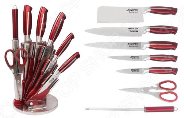 лучшая цена Набор ножей Mercury Haus MC-6158