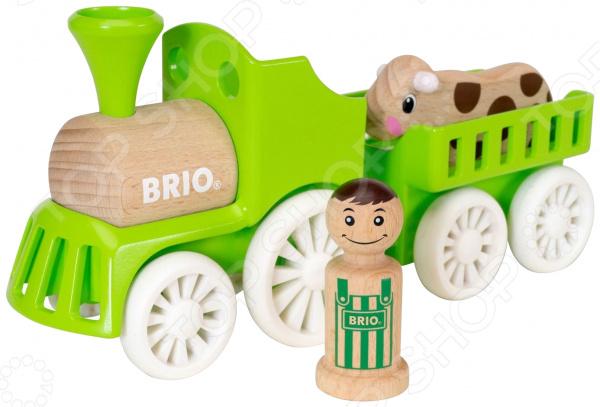 Игровой набор Brio «Фермерский поезд» поезд brio экспресс с машинистом с 3 х лет
