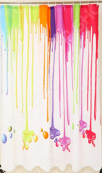 Штора для ванной Dasch «Краски»