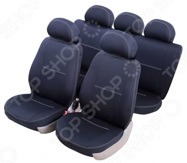 Набор чехлов для сидений Azard Standart Chevrolet Lacetti 2004-2013, Накидки на сидения. Накладки на ремни - артикул: 1778410