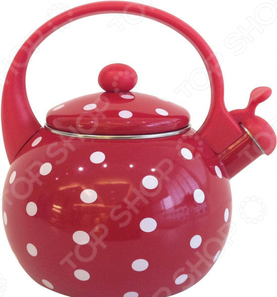 Чайник со свистком Appetite «Горох»