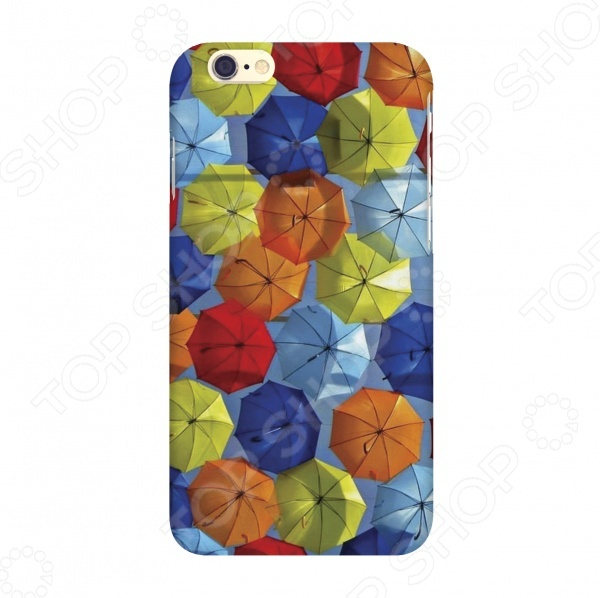 зонтики детские Чехол для IPhone 6 Mitya Veselkov «Зонтики»