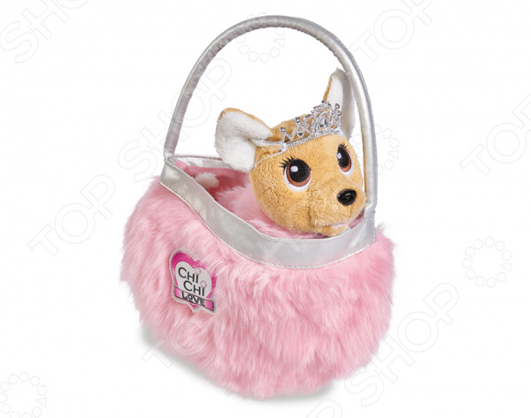 Мягкая игрушка Simba Chi Chi love «Собачка-принцесса»