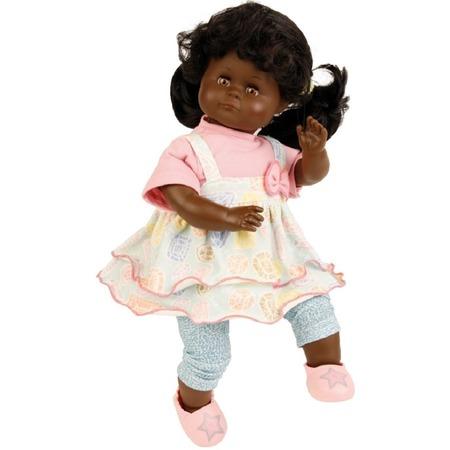 Купить Кукла мягконабивная Schildkroet «Санни темнокожая». Высота куклы: 37 см