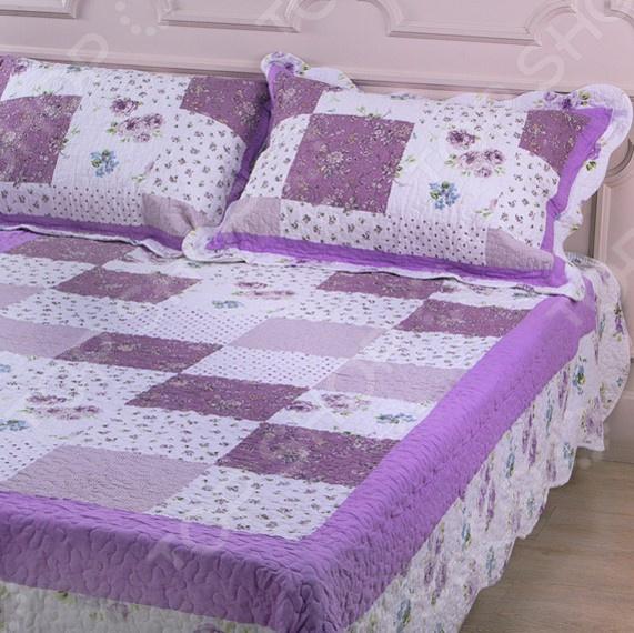 Комплект для спальни: покрывало и наволочки Santalino 806-020 для спальни