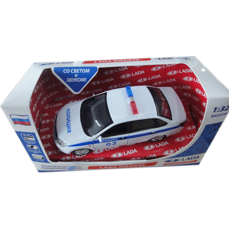 Купить Модель автомобиля 1:32 Carline Lada Granta. Полиция