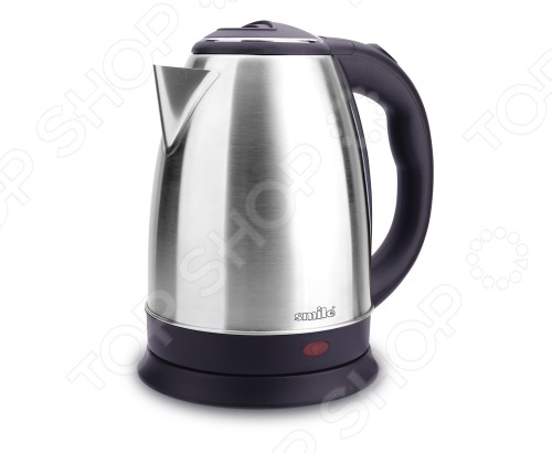 Чайник Smile WK 5209 aucma aucma адк 1800d39 1 7l304 электрический чайник из нержавеющей стали двойной анти ошпаривают
