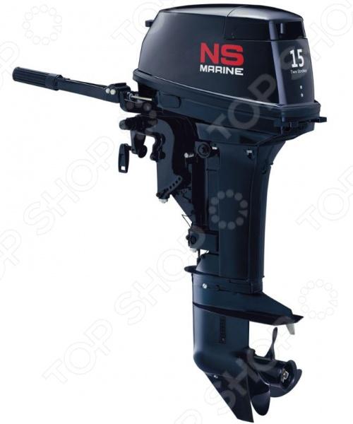 Лодочный мотор 2-х тактный NS Marine NM 15 D2S лодочный мотор 2 х тактный titan tp70aehdl