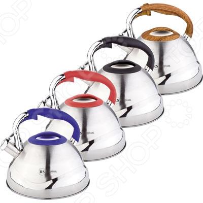 Чайник со свистком Rainstahl RS\WK-7607-30. В ассортименте чайник со свистком rainstahl 7600 27rs wk в ассортименте