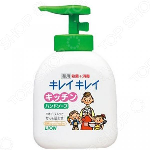 Мыло жидкое для рук Lion антибактериальное camillen 60 мыло для рук с дозатором handseife мыло для рук с дозатором handseife 1 л
