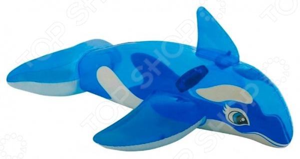 Касатка надувная Intex 58523 игрушка надувная intex акула