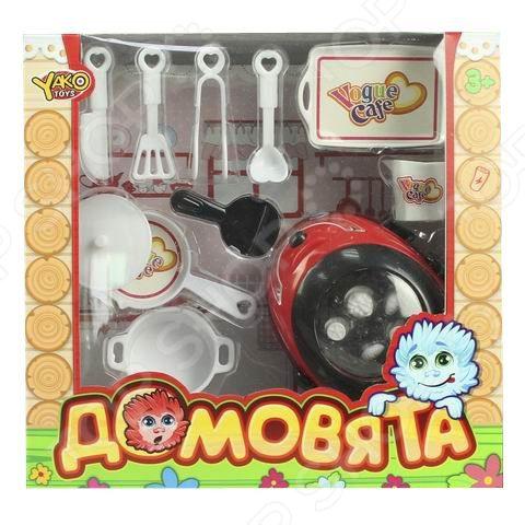 Скороварка игрушечная Yako «Домовята» игрушка yako m6226