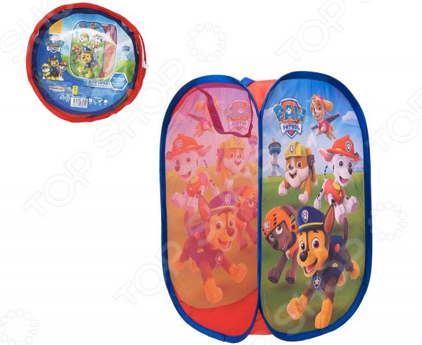 Корзина для хранения игрушек Paw Patrol 34760 корзины для игрушек avanti корзина для игрушек подвесная лягушка