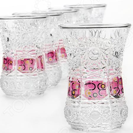Набор стаканов Loraine LR-24675 loraine набор стаканов loraine 24689 6 шт ek2pb4n