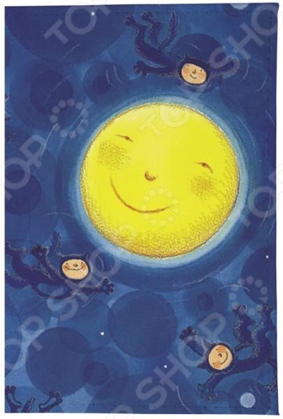 Обложка для паспорта кожаная Mitya Veselkov «Купание Луны» тамоников а холодный свет луны