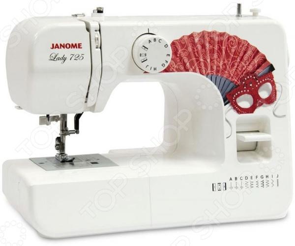 Швейная машина Janome Lady 725 janome fm 725