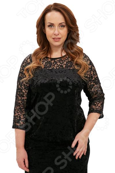 Блуза Лауме-Лайн «Легкий соблазн». Цвет: черный блуза лауме стиль заветное признание цвет черный