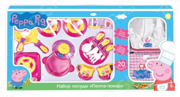 Набор посуды игрушечный Peppa Pig «Пеппа-Повар» игровой набор peppa pig набор посуды пеппа повар 20 предметов