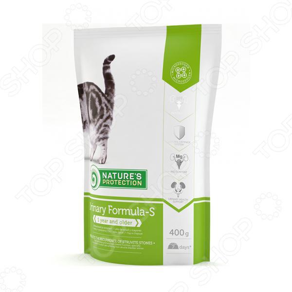 Корм сухой профилактический для кошек с МКБ Nature's Protection Urinary Formula-S greens today men s formula 26 4 oz