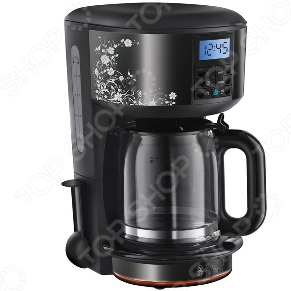 Кофеварка Russell Hobbs Legacy Floral 21991-56 кофеварка russell hobbs 20681 56 legacy coffee polished черный