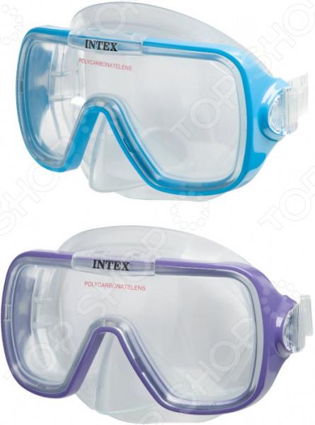 Маска для плавания Intex «Бегущий по волнам». В ассортименте для плаванья