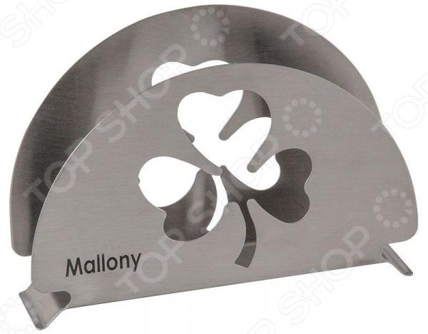 Салфетница Mallony Foglio бокс для салфеток салфетница creative bath bouquet bqt58mult