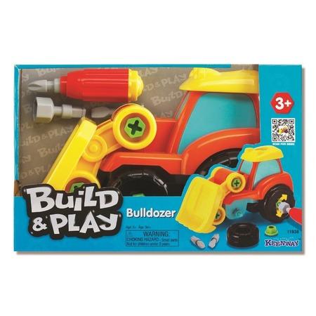 Купить Бульдозер игрушечный Keenway Build & Play