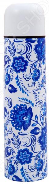 Термос Добрыня DO-1842 «Синие цветы»