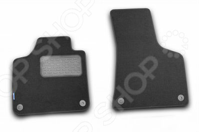 Комплект ковриков в салон автомобиля Novline-Autofamily Volkswagen Caddy 2007 фургон. Цвет: черный комплект ковриков в салон автомобиля novline autofamily volkswagen eos 2007