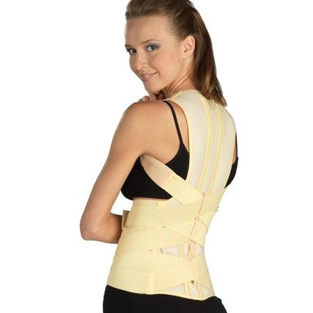 Купить Корректор осанки медицинский эластичный Tonus Elast для нижнего грудного и поясничного отделов позвоночника 0109-01