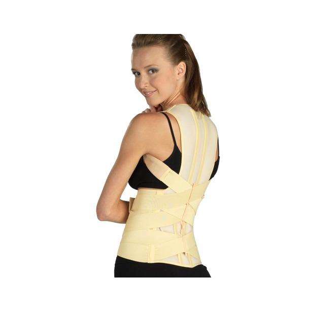 фото Корректор осанки медицинский эластичный Tonus Elast для нижнего грудного и поясничного отделов позвоночника 0109-01