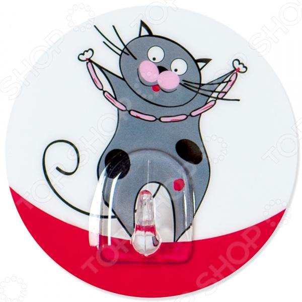 Крючок Tatkraft Funny Cats Tom крючок двойной tatkraft mega lock на вакуумном шурупе