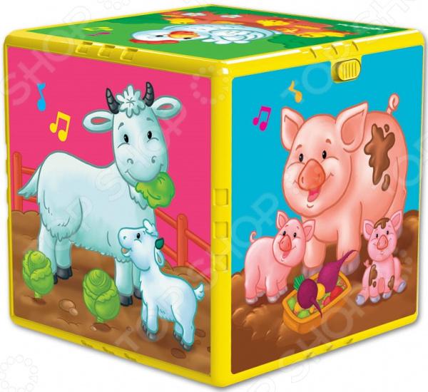 Фото - Игрушка обучающая Азбукварик «В гостях на ферме» азбукварик говорящий кубик азбукварик в гостях на ферме