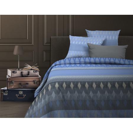 Купить Комплект постельного белья Wenge Billund. 1,5-спальный. Цвет: темно-голубой