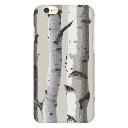 Купить Чехол для IPhone 6 Mitya Veselkov «Березы на сером»