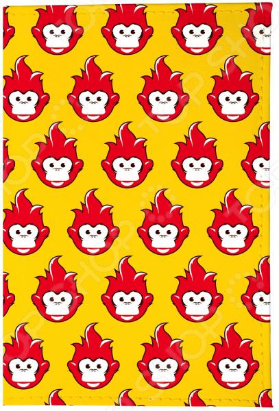 Визитница Mitya Veselkov «Много огненных обезьян» VIZAM визитницы mitya veselkov визитница много поросят на клеточках