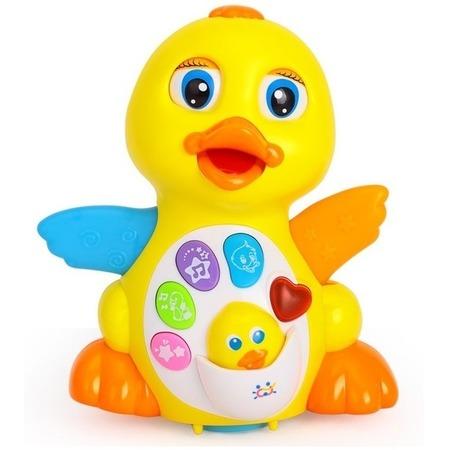 Купить Игрушка музыкальная Huile Toys «Утка»
