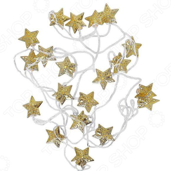 Гирлянда светодиодная Новогодняя сказка «Звездочки»