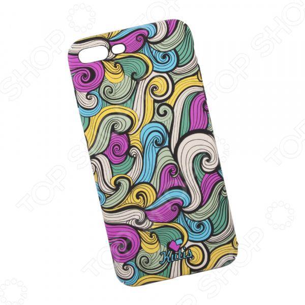 Чехол для iPhone 7 Plus/8 Plus KUtiS Rainbow Hairs DK-2 чехол для iphone 7 8 kutis rainbow hairs dk 8
