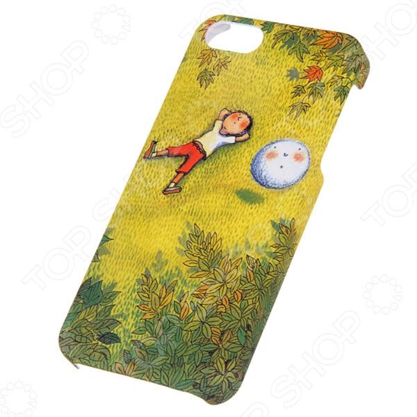 Чехол для iPhone 5 Mitya Veselkov Kafkafive-32 mitya veselkov тюльпановый принт чехол для apple iphone 5 5s