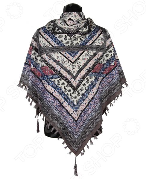 Платок Bona Ventura PL.XL-H.Pr.30 недорогой платок на шею для женщин