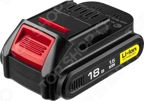 Батарея аккумуляторная для инструмента Зубр АКБ-18-Ли 15М2 батарея аккумуляторная зубр закб 18 n20