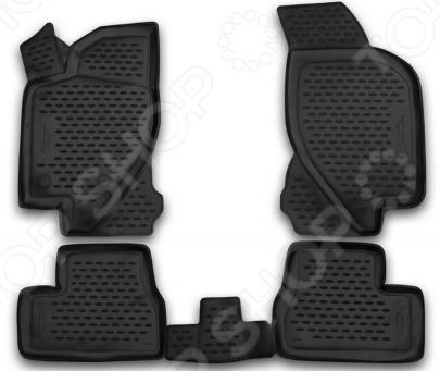 Комплект 3D ковриков в салон автомобиля Novline-Autofamily Ford F250 / F350 Super Crew 2009-2013 - фото 9