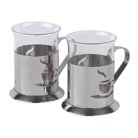 Купить Набор стаканов Rosenberg «Ностальгия». Рисунок: кофе