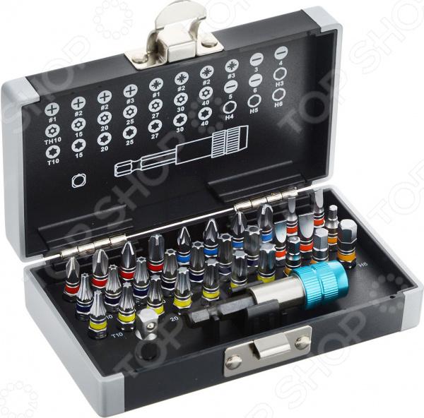 Набор бит с магнитным адаптером GROSS в кейсе набор бит gross 11467