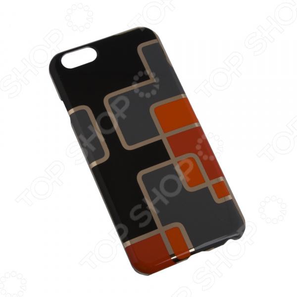 Чехол для iPhone 6/6S Macuus «Оранжевые квадратики» цена
