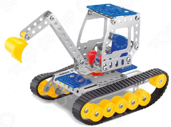 Конструктор металлический Built-Up Toys «Бульдозер»