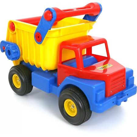 Купить Самосвал игрушечный Wader с резиновыми колесами