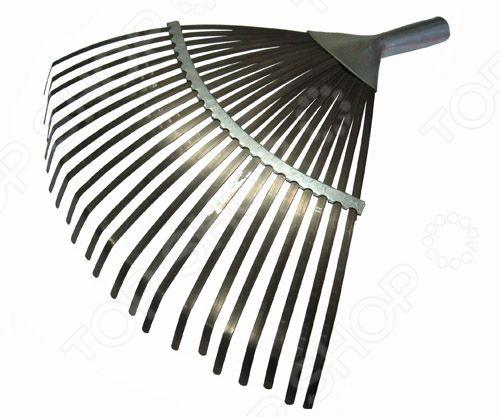 Грабли веерные пластинчатые грабли mr logo веерные 7 зубцов