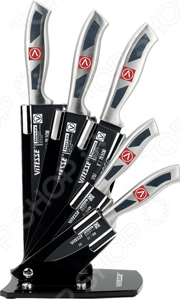 Набор ножей Vitesse VS-1757 ножи кухонные vitesse набор ножей для сыра